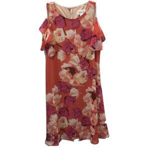 Eliza J Peekaboo Sun Dress, Size 4